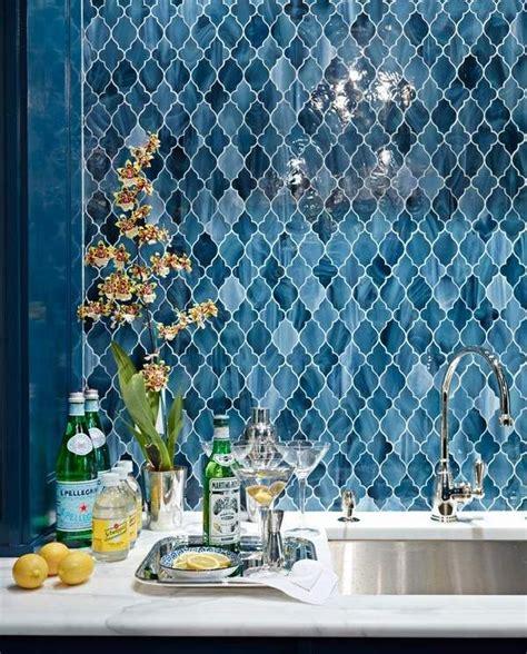 Marokkanische Fliesen Bad by Renovations Moroccan Tiles Blues Splashback
