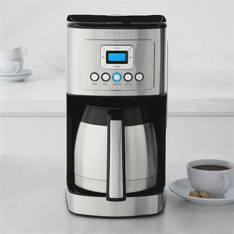Cuisinart Perfect Temp 12 Cup Programmable Thermal Coffee Maker   Williams Sonoma