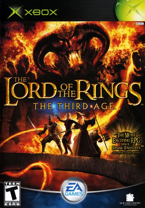 lord   rings  age xbox