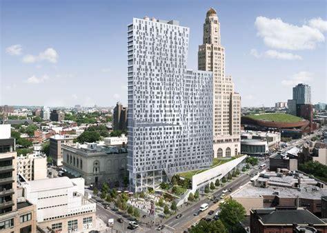 brooklyn apartment tower  enrique norten nears completion architecture  design