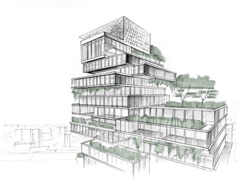 Provide concept architecture buildings by handmade