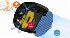 Robot Laveur De Sol : robot aspirateur laveur de sol eziclean sweepy ~ Nature-et-papiers.com Idées de Décoration