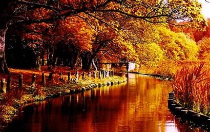 Autumn River Desktop Background Pixelstalk