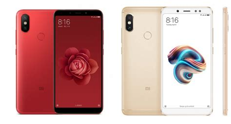 xiaomi mi 6x vs redmi note 5 pro will the new cannibalize the sales of the best seller