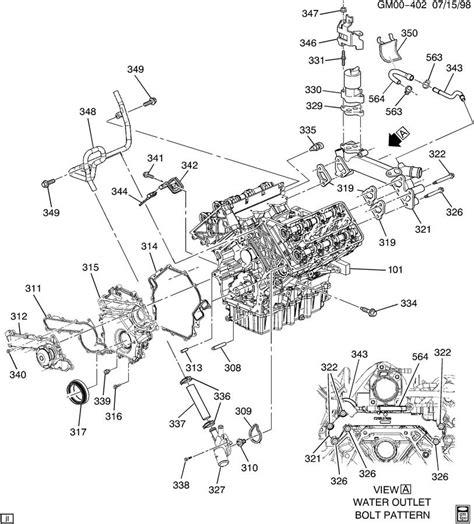 Alero Engine Diagram by 2001 Oldsmobile Engine Diagram Automotive Parts