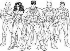 here home justice league kids drawing of justice league coloring page