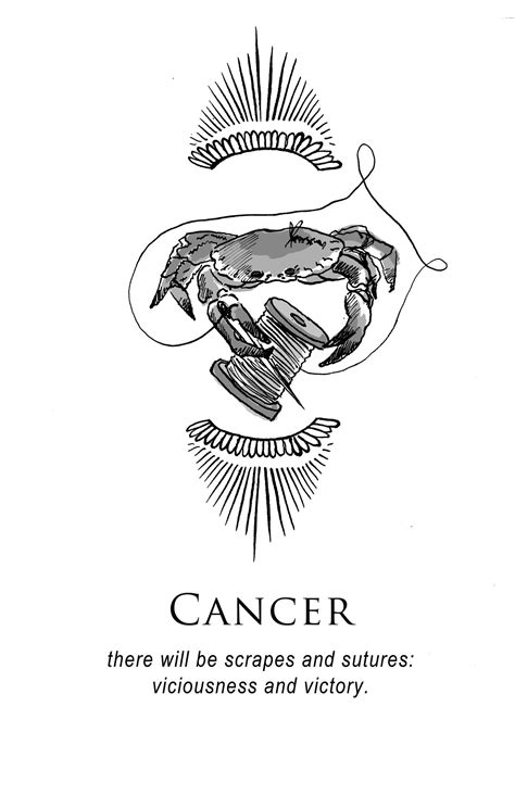 Amrit Brar's Portfolio - Book IV: Resolutions | tattoo ideas | Cancer sign, Zodiac sign tattoos