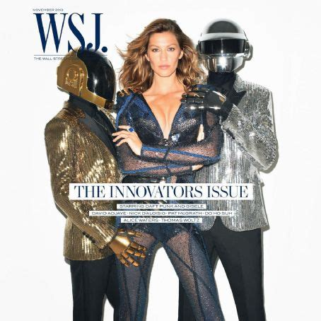 Gisele Bündchen, Daft Punk, Wsj Magazine November 2013 ...
