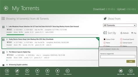 torrent windows utorrent app client remote device looking