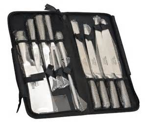 best kitchen knives set consumer reports brand new ross henery professional eclipse premium 9 chefs knife set in heavy duty zip up
