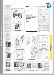 Caterpillar Telehander Th330b  Tbg  Hydraulic Schematic