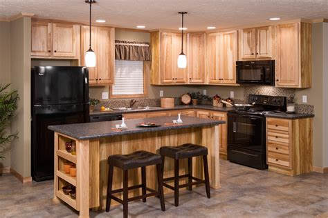 mobile home kitchen cabinets for sale redman model home with hickory cabinets brooks village