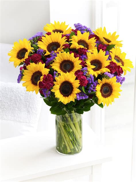 sunflower arrangement flowers sunflower arrangements