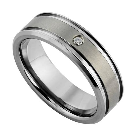 wedding rings men 15 best collection of contemporary mens wedding rings 1049
