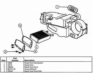 02 F150 Heater Core