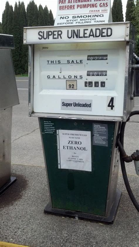 ethanol gas  vancouver pnw riders  motorcycle