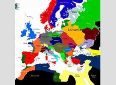 Europe 1430, 14611491 Map Game Alternative History