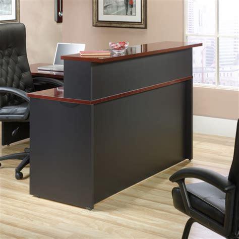 reception desk hutch sauder 419642 via reception hutch the furniture co
