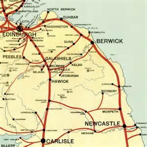 Borders Railway Map