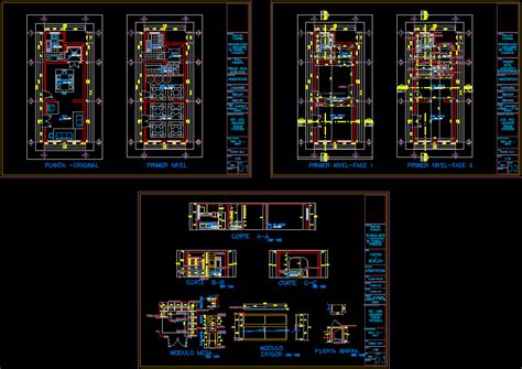 cafe remodel  design part   house dwg model