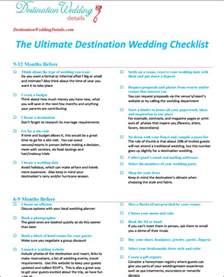 destination wedding planning untitled checklist for destination wedding