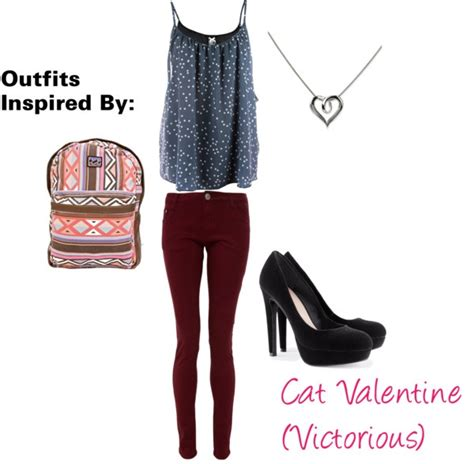 U0026quot;Outfits Inspired By Cat Valentine (Victorious)u0026quot; by guardingangels on Polyvore | Polyvore ...