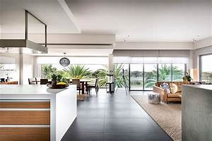 Modern, Rectangular, House, Impresses, With, A, Splendid, Architecture, And, Interior, Design
