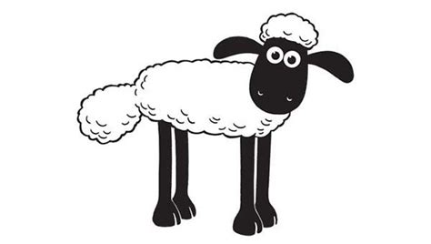 Picture Of Shaun The Sheep Coloring Page