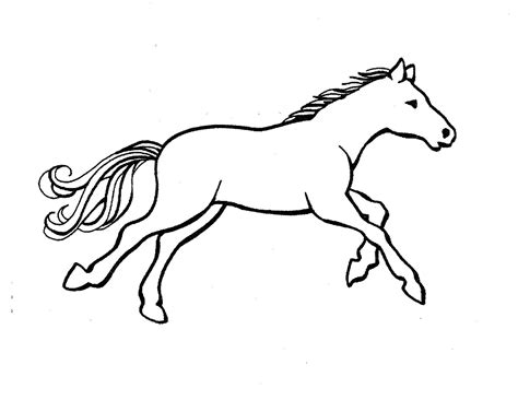horse templates horse templates colouring pages
