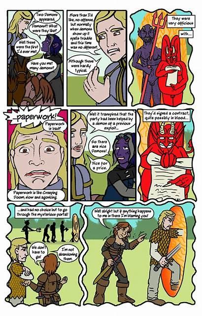 Epic Fail Comic Funny Fantasy Worst Random