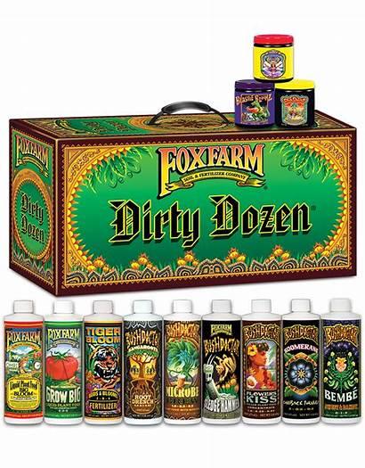 Foxfarm Dozen Dirty Fertilizer Fox Starter Pack