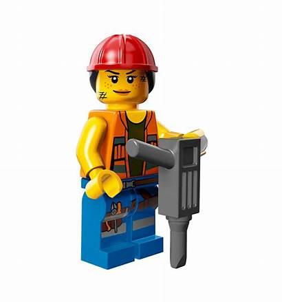 Construction Lego Worker Gail Minifigures Minifigure Clipart