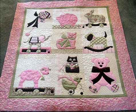 Noreen's Quilt For New Grand Baby