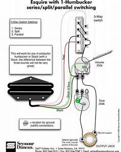 Seymour Duncan Coil Tap Diagram