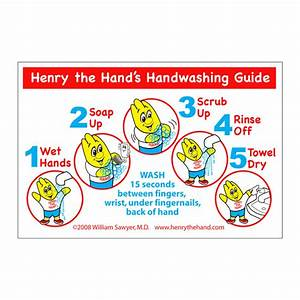 Henry The Hand Sink Reminders  Pkg