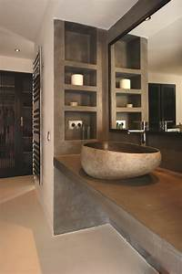 lavabo en pierre salle de bain dootdadoocom idees de With lavabo en pierre salle de bain
