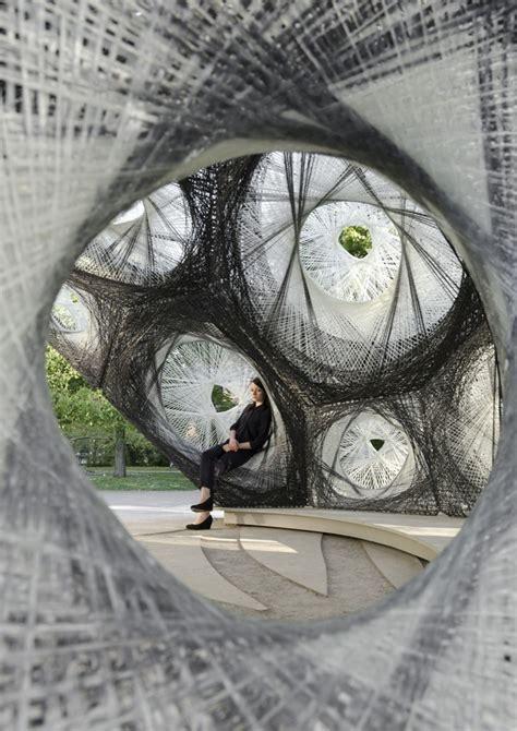 university  stuttgart realized  carbon fibre pavilion