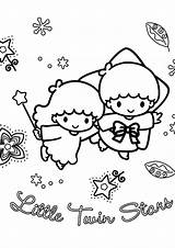 Coloring Twins Pages Twin Stars Getdrawings sketch template