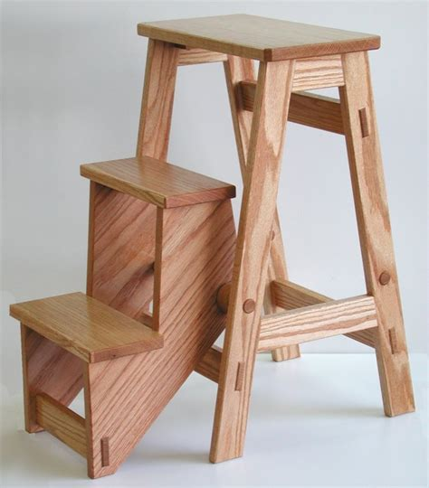 sorted details folding step stool  plan