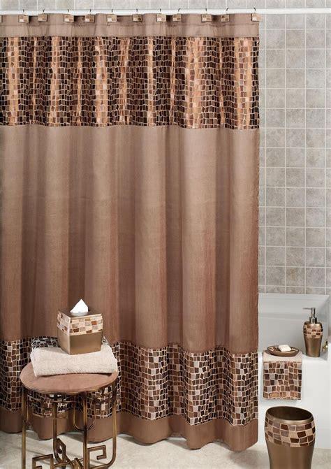 remarkable fabric shower curtains  elegant bathroom
