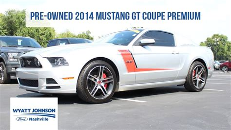 pre owned ford mustang for 2014 ford mustang gt coupe premium used car for