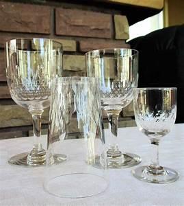 Service De Verre En Cristal : verres anciens baccarat service richelieu ~ Teatrodelosmanantiales.com Idées de Décoration