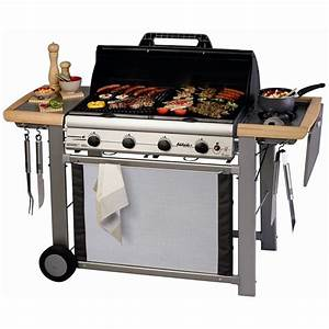 Barbecue Gaz Grill Et Plancha : campingaz barbecue gaz adelaide 4 classic l del achat vente barbecue campingaz barbecue ~ Preciouscoupons.com Idées de Décoration