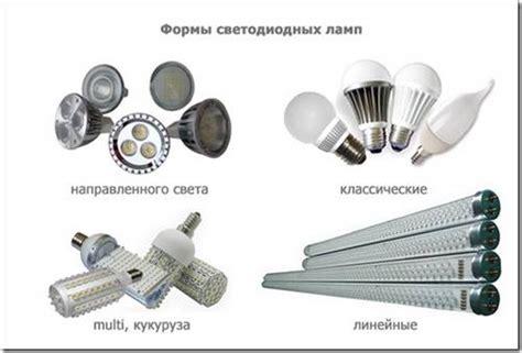 Лампы уличного освещения разновидности характеристики
