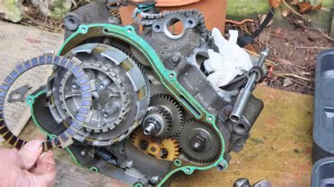 yamaha yzf  clutch rebuild engine repairs  owner