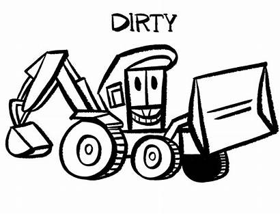Dirty Series Park Stinky Coloring Cartoon Mighty