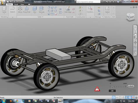 Our Fsae Car In Design Progress