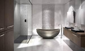 mosaiques bati orient marbre pierre metaux inox verre bois With salle de bain galet et bois