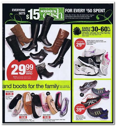 As you shop the racks, you'll find a mix of fashions, home goods and even toys which are seemingly again, the interest rate on the kohl's credit card is extremely high. Kohl's Black Friday 2013 Ad - Find the Best Kohl's Black Friday Deals and Sales   Kohls black ...