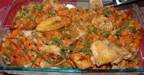 cuisine malienne poulet dg directeur général recette en vidéo recette